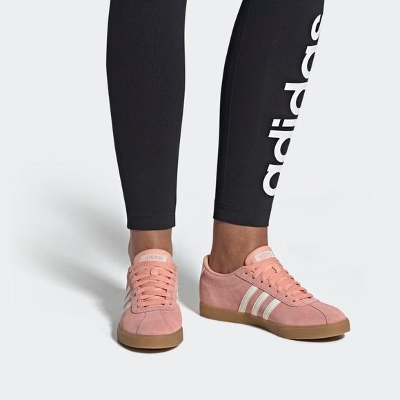adidas Shoes   Courtset Sneakers   Poshmark